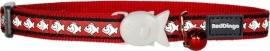 Halsband Kat - Reflective Rood