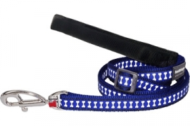 Hondenlijn Reflective - Donkerblauw
