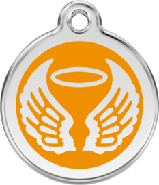 Angel Wings (1AW) Oranje - Small 20mm