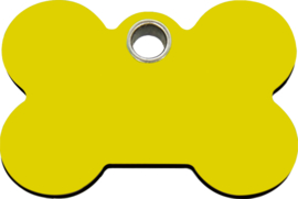 Botje Plastic (4BN) Geel - Small 25,5mm