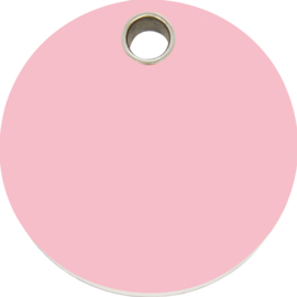 Rondje Plastic (4CL) Roze - Small 20mm
