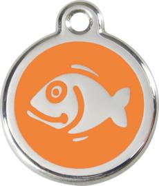 Vis (1FI) Oranje - Small 20mm