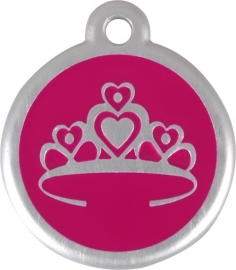 QR - Crown Hot Pink