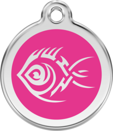 Tribal Fish (1TF) Hot Pink - Medium