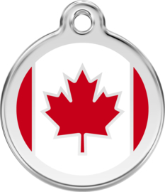 Canadese Vlag (1CA) - Medium 30mm