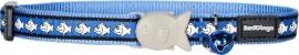 Halsband Kat - Reflective Middenblauw