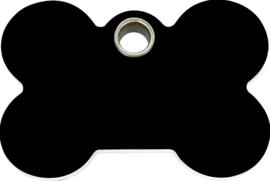 Botje Plastic (4BN) Zwart - Small 25,5mm