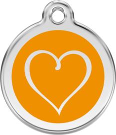 Tribal Heart (1TH) Oranje - Small
