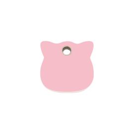Kattenkopje Plastic (4CH) Roze