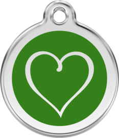 Tribal Heart (1TH) Groen - Small
