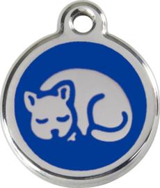 Kitten (1KT) Donkerblauw - Small 20mm