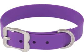 PVC Halsband - Paars (Biothane)
