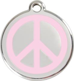 Peace (1PC) Roze - Small 20mm
