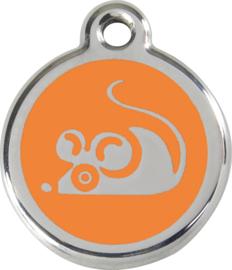 Muis (1MS) Oranje - Small 20mm