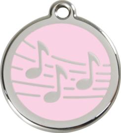 Muziek (1MU) Roze - Small 20mm