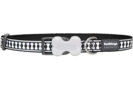 Halsband Hond - Zwart Reflective