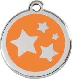 Sterren (1ST) Oranje - Small 20mm