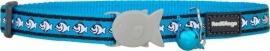 Halsband Kat - Reflective Turquoise