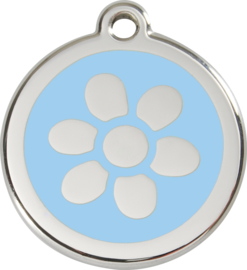 Bloem (1FW) Lichtblauw - Small 20mm