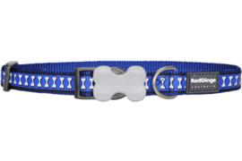 Halsband Hond - Donkerblauw Reflective