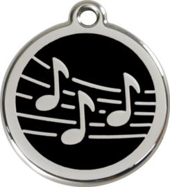 Muziek (1MU) Zwart - Small 20mm