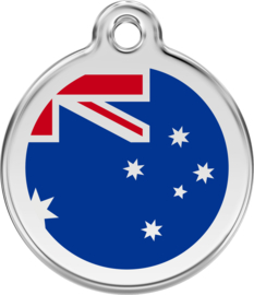 Australische Vlag (1AU) - Medium 30mm