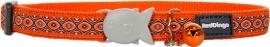 Halsband Kat - Snake Eyes Oranje