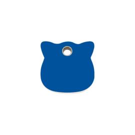 Kattenkopje Plastic (4CH) Donkerblauw