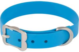 PVC Halsband - Blauw (Biothane)
