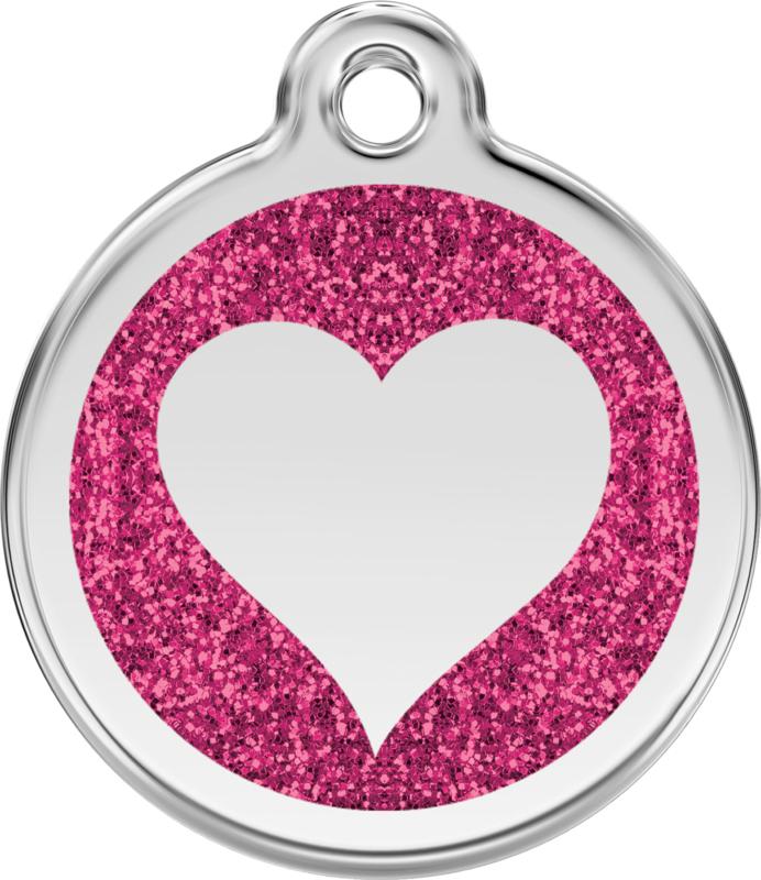 Hartje Glitter (XHT) Hot Pink - Large 38mm