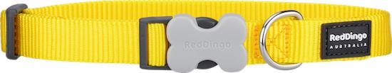 Halsband Hond - Geel