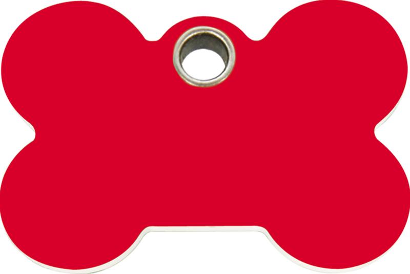 Botje Plastic (4BN) Rood - Large 48,3mm