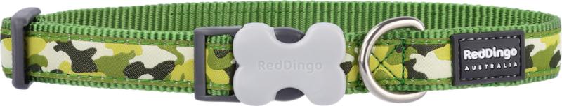 Halsband Hond - Camouflage Groen