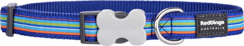 Halsband Hond - Horizontal Stripes Navy