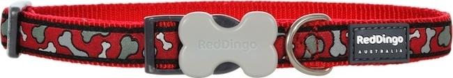 Halsband Hond - Bonarama Red