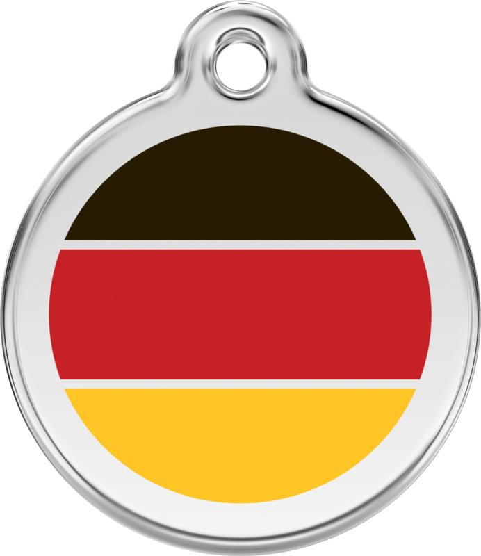 Duitse Vlag (1DE) - Medium 30mm