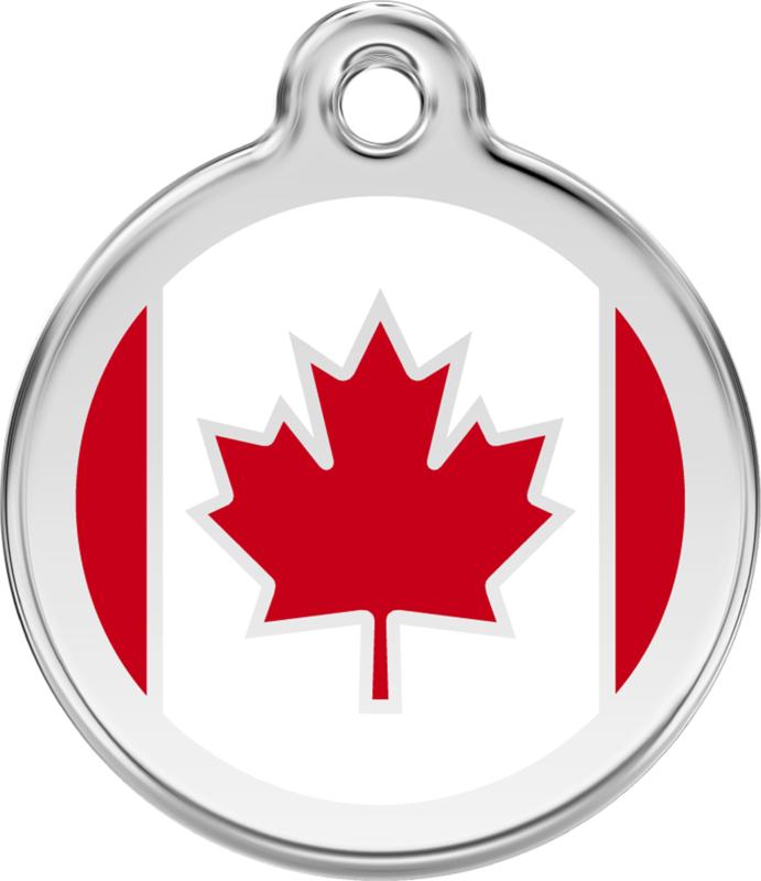 Canadese Vlag (1CA) - Medium 30mm