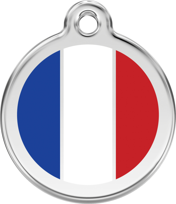 Franse Vlag (1FR) - Medium 30mm