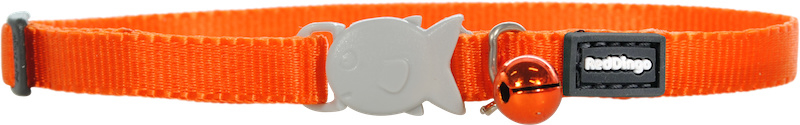 Halsbandje kitten - Oranje