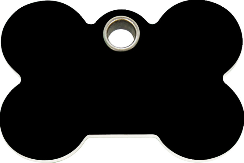 Botje Plastic (4BN) Zwart - Medium 38mm