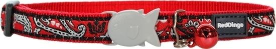 Halsband Kat - Bandana Red