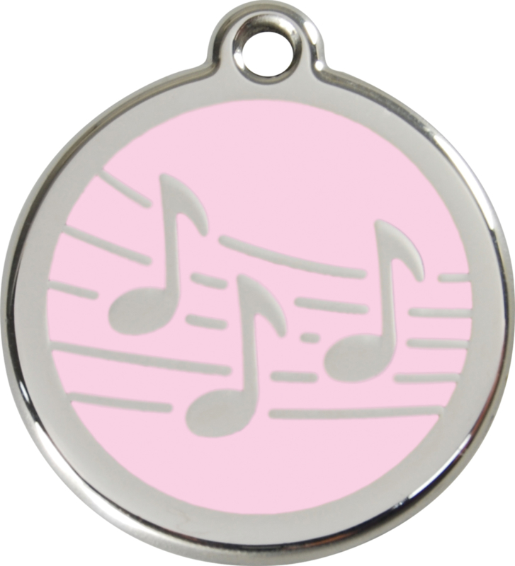 Muziek (1MU) Roze - Medium 30mm