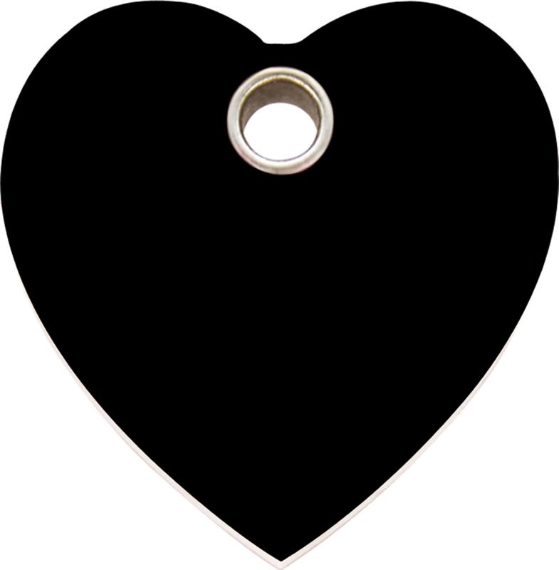 Hartje Plastic (4HT) Zwart - Medium 30.1mm