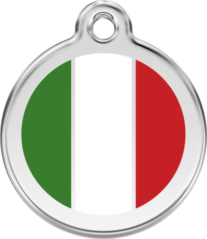 Italiaanse Vlag (1IT) - Small 20mm