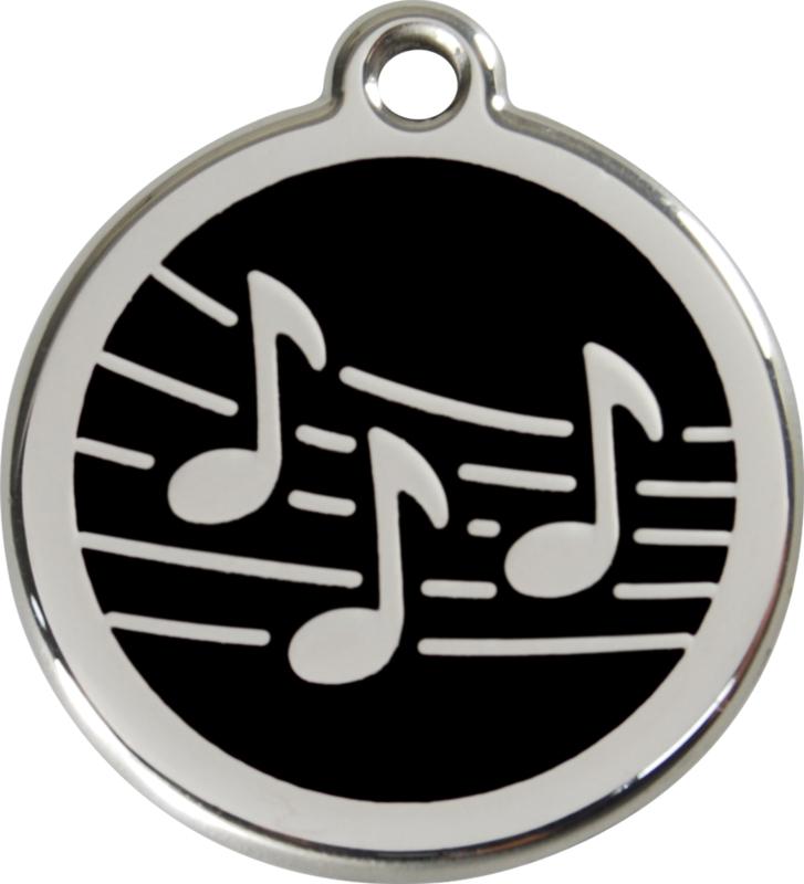Muziek (1MU) Zwart - Medium 30mm