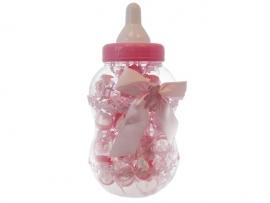 Baby fles rose