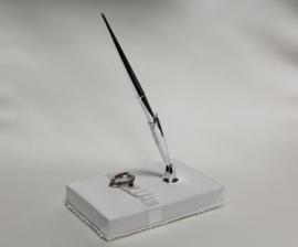 Pen + houder  3017 - uitverkocht