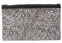 Make-up tasje luipaard PINK