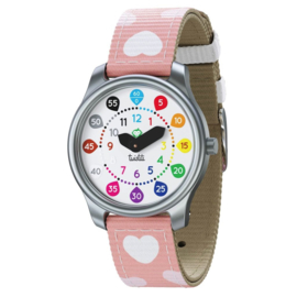 Twistiti horloge hearts