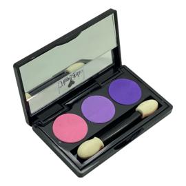 Luxe Oogschaduw Purple pink (met spiegeltje)